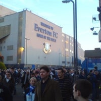 Photo taken at Goodison Park by Nikki H. on 8/29/2012