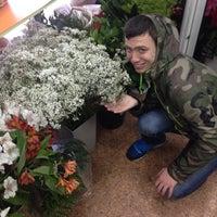 Photo taken at MegaFlowers by Пашка v. on 3/31/2014