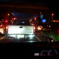 Photo taken at Ratchayothin Intersection by Nu-Piano Z. on 10/12/2012