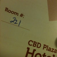 Photo taken at CBD Plaza Hotel - Naga City by Marjulie G. on 5/16/2014