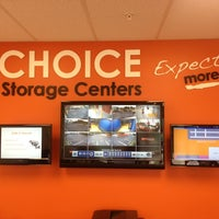 ... Photo Taken At Choice Storage Centers By Mike M. On 3/26/2013 ...