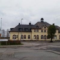 Photo taken at Hultsfreds järnvägsstation by Per M. on 10/23/2014
