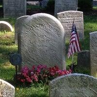 Photo taken at Washington Irving's Grave by Sam K. on 8/4/2013