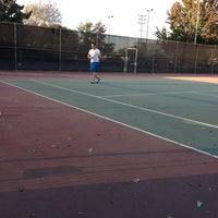 Photo taken at Mar Vista Park Tennis Courts by Cecilia N. on 10/3/2012