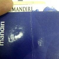 Photo taken at Bank Mandiri by Edo W. on 2/20/2014