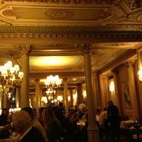Photo taken at Café de la Paix by Andrew T. on 5/29/2013