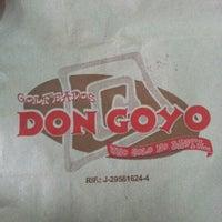 Photo taken at Golfeados Don Goyo by Ismael Q. on 12/8/2012