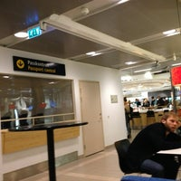 Photo taken at Umeå Airport (UME) by Ewa W. on 12/19/2012
