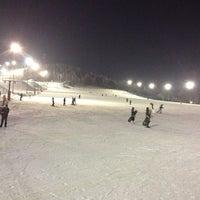 Снимок сделан в ГЛК Гора Волчиха пользователем Юля 1/10/2013