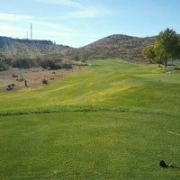 Photo taken at Cerbat Cliffs Golf by Phil R. on 11/4/2012