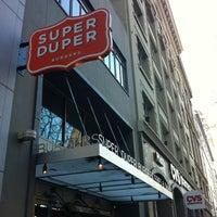 Photo taken at Super Duper Burger by Kirk on 1/12/2013