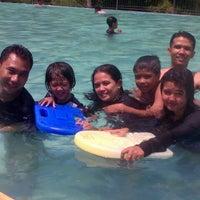 Photo taken at Kolam Renang & Waterpark Pondok Indah by Ajis' A. on 8/25/2013