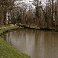 Photo taken at Chesterfield Canal by Zoe M. on 4/13/2013