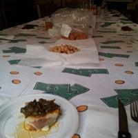 Photo taken at Salone (Casa Tesone) by Nicola T. on 10/28/2012