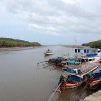 Photo taken at Bang Rong Pier by Natalya K. on 9/16/2012
