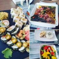 Photo taken at Nine Kitchen  sushi & fusion by Max S. on 6/19/2016
