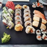 Photo taken at Nine Kitchen  sushi & fusion by Max S. on 5/22/2016