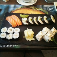 Photo taken at Nine Kitchen  sushi & fusion by Max S. on 3/6/2016
