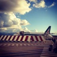 Photo taken at Aeroporto Internazionale di Lamezia Terme (SUF) by Enzino on 12/12/2012
