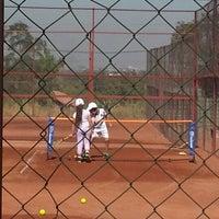Photo taken at Club De Tenis Lo Cañas by Betzabeth V. on 1/21/2014
