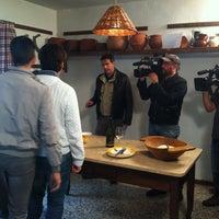 Photo taken at Casa Forcolera (Borgoluce) by Omar B. on 10/3/2013