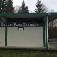 Photo taken at Summit Park Grange #261 by Bradley A. E. on 3/15/2013
