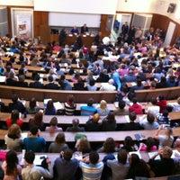 Photo taken at Filozofická fakulta UK by Katerina on 10/23/2012