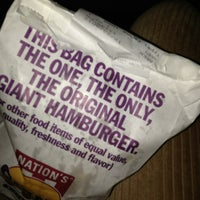 Photo taken at Nation's Giant Hamburgers by GABBYiSACTiVE on 12/23/2012