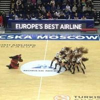 Photo taken at Alexander Gomelsky CSKA USH by Yury M. on 3/15/2013