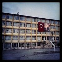 Photo taken at Bahçelievler Anadolu Lisesi by Irmak B. on 10/28/2012