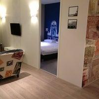 Photo taken at Amsterdam ID Aparthotel by Natalie V. on 3/22/2013