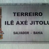 Photo taken at Terreiro Ilê Axé Jitolu by Val B. on 3/29/2013