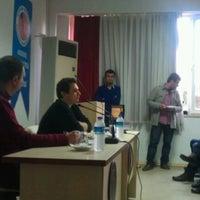 Photo taken at Akdeniz Üniversitesi İletişim Fakültesi by ! Timuçin KAZAN on 11/29/2012