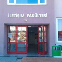 Photo taken at Akdeniz Üniversitesi İletişim Fakültesi by ! Timuçin KAZAN on 11/27/2012