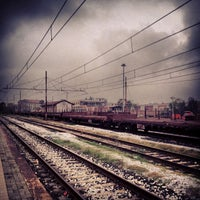 Photo taken at Stazione Seregno by Andrea B. on 10/29/2013