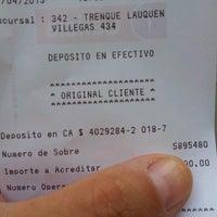 Photo taken at Banco Galicia by Fer B. on 4/4/2013