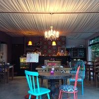 Photo taken at MO Café & Bistrô by Stanley M. on 1/3/2014