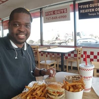 Photo taken at Five Guys by Donnell H. on 2/20/2016