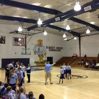 Photo taken at Turkey Creek Middle School by Andrew M. on 10/17/2012