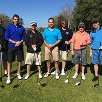 Photo taken at Blue Heron Pines Golf Club by Ciaran C. on 5/2/2015