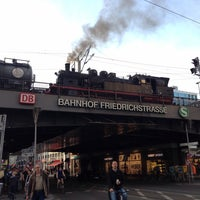 Photo taken at Berlin Friedrichstraße Railway Station by André G. on 6/4/2013
