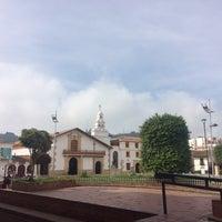 Photo taken at Parque Julio Florez by Joanna P. on 4/8/2017