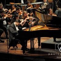 Photo taken at Teatro Municipal de Limeira by Andreza Z. on 4/9/2013
