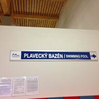 Photo taken at Bazénové centrum KV Arena by Дмитрий C. on 4/13/2013
