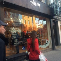 Photo taken at Stussy New York by Victor V. on 12/7/2013