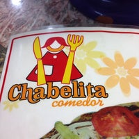Photo taken at Chabelita Comedor by Pablo C. on 10/8/2016