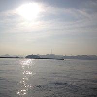 Photo taken at 豊島行き小型旅客船のりば by Kazumi F. on 10/29/2013