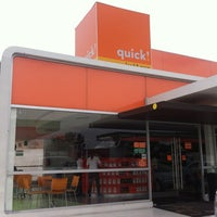Photo taken at quick! food & more by Julián C. on 11/3/2012