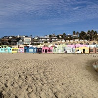 Photo taken at Capitola Beach by Ashlee A. on 10/21/2012