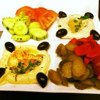 Photo taken at Mazah Mediterranean Eatery by Katy A. on 5/24/2013